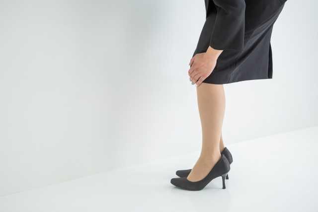 女性の素足