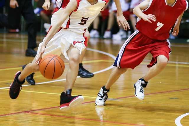 バスケットボールの様子
